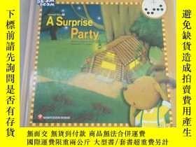 二手書博民逛書店A罕見SURPRISE PARTY(Story Boom Boo