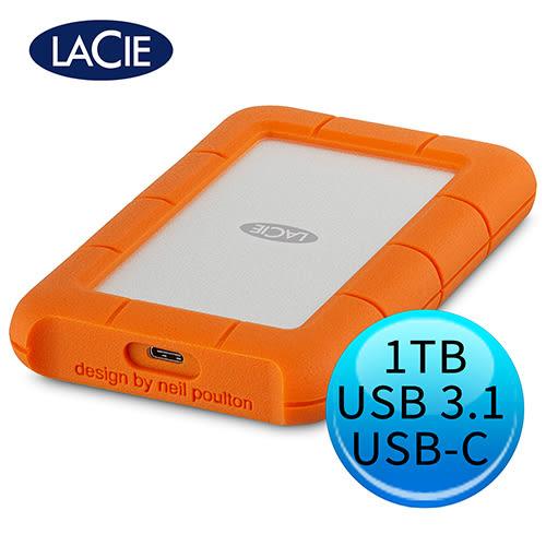 LACIE Rugged 1TB USB3.1 Type-C 2.5吋 外接硬碟 STFR1000800