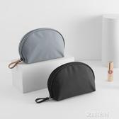 韓國化妝包小號旅行便攜手拿包隨身化妝袋簡約大容量化妝品收納包『艾麗花園』