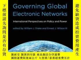 二手書博民逛書店Governing罕見Global Electronic NetworksY256260 Drake, Wil