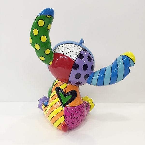 【震撼精品百貨】Disney 迪士尼~Enesco精品雕塑-史迪奇塑像【共1款】