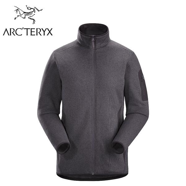 【ARC TERYX 始祖鳥 女 Covert 刷毛外套《威士忌雜褐》】24085/中層衣/保暖外套/夾克