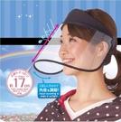 透明防護面罩防飛沫廚房防油煙雨水遮陽防曬帽子女護眼 洛小仙女鞋