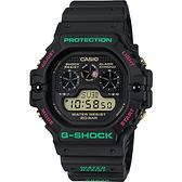 CASIO 卡西歐 G-SHOCK 聖誕節版 數位顯示手錶 DW-5900TH-1