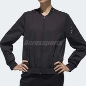 adidas 外套 Bomber 黑 女款 飛行夾克 【PUMP306】 DX9706