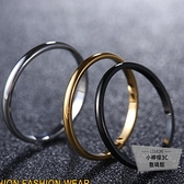 男士尾戒韓版鈦鋼簡約戒指指環食指戒子飾品【小檸檬3C】