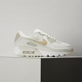 Nike W Air Max 90 SE 女 白灰 經典 氣墊 簡約 休閒鞋 CV8824-100