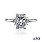 ides愛蒂思 低調奢華設計款1.08克拉F/VS1八心八箭鑽石戒指/璀璨人生