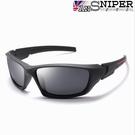 [英國ANSNIPER]SP-KP011(黑框灰片 )UV400保麗萊偏光REVO鏡片戶外專業騎行男士抗UV偏光太陽眼鏡