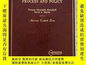 二手書博民逛書店Immigration罕見Process And Policy by Thomas Alexander Alein