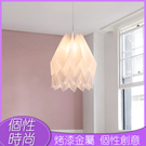 北歐創意亞克力吊燈簡約現代客廳裝潢吊燈設計師餐廳臥室床頭吊燈