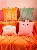 抱枕被子兩用辦公室多功能汽車內靠墊三合一折疊午休神器午睡毯子『東京衣社』