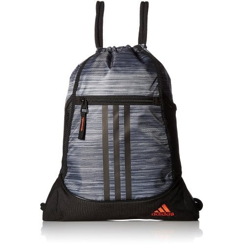 Adidas- 聯盟後背袋包(瑪瑙黑色)