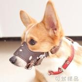 狗狗嘴套狗口罩 防叫防咬防亂吃 大中小型犬寵物泰迪柯基貴賓狗套 可然精品