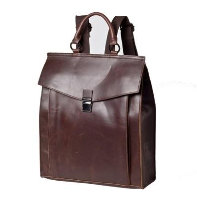後背包-皮革復古百搭簡約郵差包男雙肩包73in15【時尚巴黎】