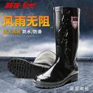 3515雨鞋男高筒中筒四季款防水防滑雨鞋工作雨靴釣魚膠鞋 QQ21311『東京衣社』