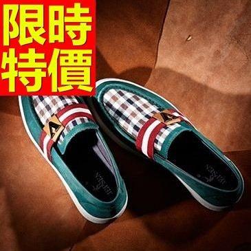 男皮鞋-經典設計懶人休閒男樂福鞋3色59p49[巴黎精品]