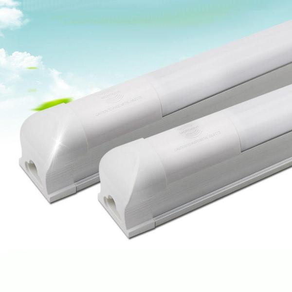 【AL385】LED T8 感應燈管4尺18W(1.2米) 4呎 雷達燈管 感應燈泡 含底座★EZGO商城★