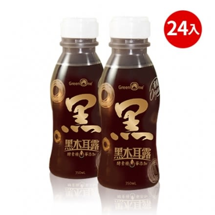 大漢酵素 有機酵素黑木耳露(350ml*24瓶)