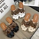 穆勒鞋拖鞋女外穿2020夏季新款韓版百搭穆勒鞋網紅懶人鞋平底包頭半拖鞋 衣間迷你屋