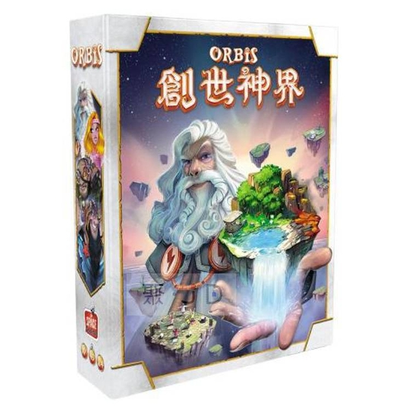 【Gokids 桌遊】家庭遊戲 - 058304 創世神界 (中文版) Orbis