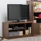 電視櫃 電視桌 收納【收納屋】 柏拉圖單門二格電視櫃&DIY組合傢俱