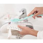 多功能雙頭長柄清潔洗鞋刷(1入)【小三美日】