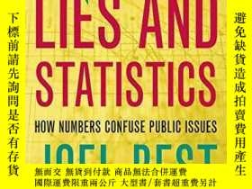 二手書博民逛書店More罕見Damned Lies And StatisticsY256260 Joel Best Unive