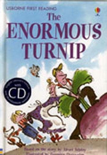 【麥克書店】THE ENORMOUS TURNIP  /英文讀本+CD