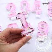 蝴蝶仙子創意焰火蠟燭蛋糕裝飾蠟燭兒童周歲寶寶生日年齡無煙      蜜拉貝爾