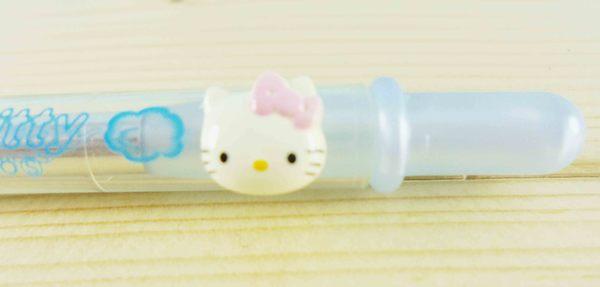 【震撼精品百貨】Hello Kitty 凱蒂貓~KITTY眼影刷-藍色筆桿