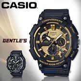 CASIO 卡西歐 手錶專賣店   MCW-200H-9A 三眼計時男錶 樹脂錶帶 深灰/銀色/深灰X金色錶面 MCW-200H