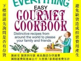 二手書博民逛書店The罕見Everything Easy Gourmet CookbookY410016 Nicole Alp