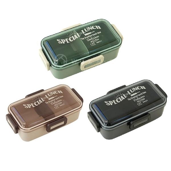 日本BISQUE 都會個性野餐盒(S)-共3色 便當盒 保鮮盒 儲物盒 日本製造 好生活
