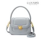 手提包 治癒貓咪鎖扣小眾設計側背包 2色-La Poupee樂芙比質感包飾 (預購+好禮)