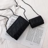 迷你包 小眾包包洋氣夏季新款斜背包女質感百搭迷你包小黑包 果果生活館