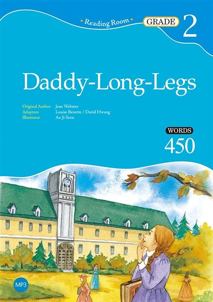 Daddy-Long-Legs【Grade 2】(2nd Ed.) (25K經典文學改寫讀本)