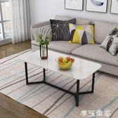 現代簡約茶幾客廳小戶型茶桌方形小桌子北歐家用簡易茶幾經濟型 MKS摩可美家