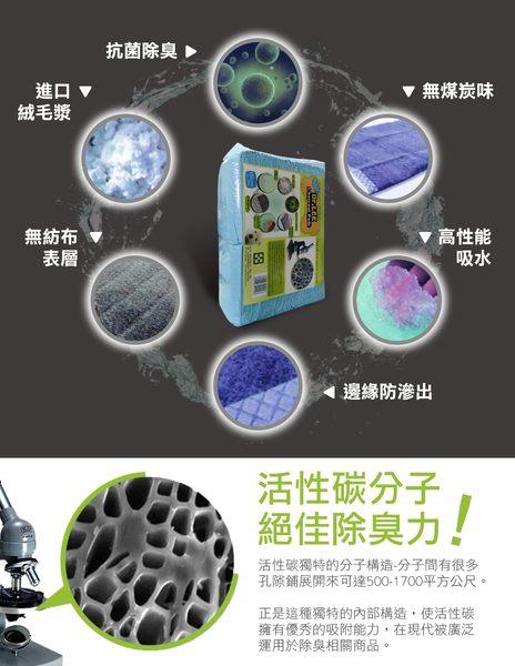 【力奇】Dr. Lee 專業用活性碳尿布 100入(30*45cm)-180元 3包內可超取(H003A11)