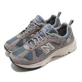 New Balance 休閒鞋 878 NB 灰 深藍 男鞋 女鞋 復古 麂皮 反光 復古慢跑鞋 元祖灰 【ACS】 CM878KO1D