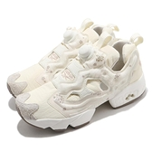 Reebok 休閒鞋 Instapump Fury OG 米白 男鞋 女鞋 牛年 櫻花圖騰 【ACS】 FX3115