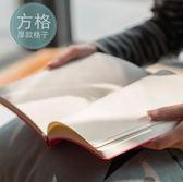 方格本 錦一手帳日記本加厚手賬本文具本子 筆記本記事本「寶貝小鎮」