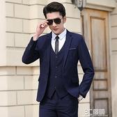 西裝外套 休閒西服套裝男韓版潮流修身商務正裝帥氣上衣結婚小西裝男士外套 3C優購