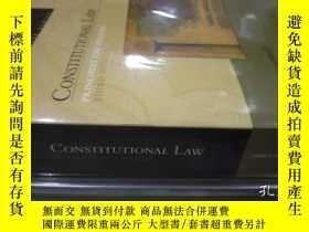 二手書博民逛書店Constitutional罕見LawY364682 Erwin Chemerinsky Aspen Publ