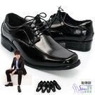 皮鞋.鞋帶款. 時尚亮皮耐穿休閒皮鞋-上...