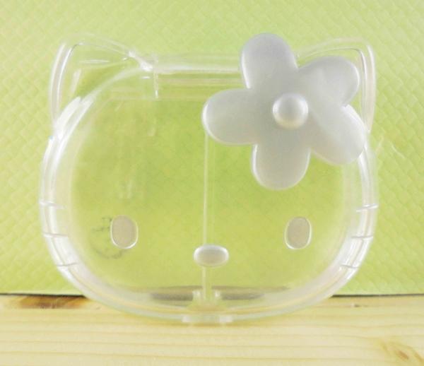【震撼精品百貨】Hello Kitty 凱蒂貓~KITT造型盒-透明銀色