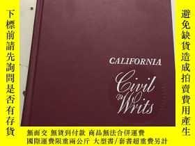 二手書博民逛書店California罕見Civil WritsY23470 EL