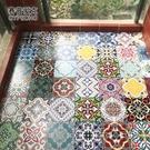 地板貼裝飾牆貼防水自黏牆紙瓷磚貼紙廚房衛...