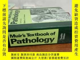 二手書博民逛書店muir's罕見textbook of pathology穆爾斯