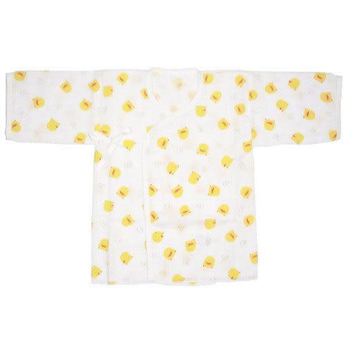 【奇買親子購物網】黃色小鴨印花紗布肚衣